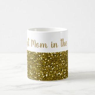 GoldGlitzer-beste Mamma in der Welt Kaffeetasse