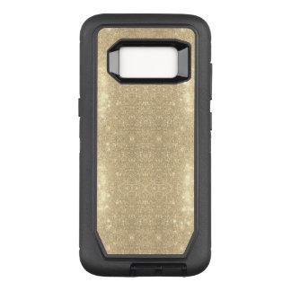 GoldGlitzer-Imitat-Schein OtterBox Defender Samsung Galaxy S8 Hülle
