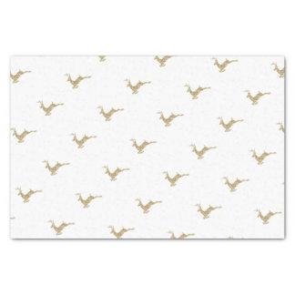 GoldGlitzer-Ren-Verpackungs-Papier-Geschenk Seidenpapier