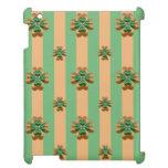 Goldgrüner Kleeblatt-Irland iPad Kasten
