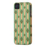 Goldgrünes Kleeblatt-Irland-BlackBerry-mutiger iPhone 4 Etuis