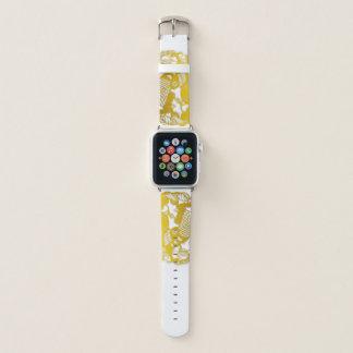 Goldhahn Papercut chinesischer Tierkreis eine Uhr Apple Watch Armband