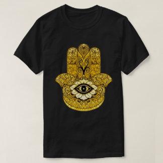 GoldHamsa Symbol-Indie Kunst-Grafik-T-Stück T-Shirt