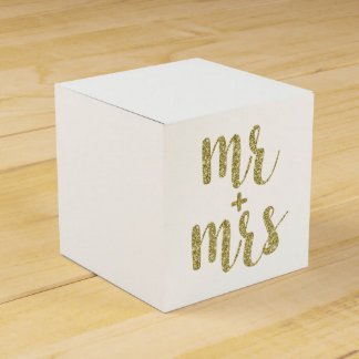 Goldherr u. Frau Bevorzugungskästen, Glitter Geschenkkartons