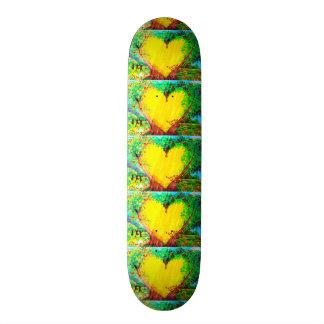 Goldherz-Skateboard 19,7 Cm Skateboard Deck