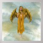 Goldhimmel-Engel Poster