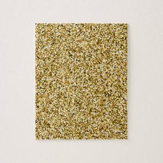 GoldImitat-Glitter Puzzle