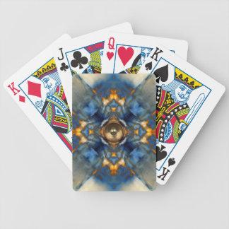Goldkaleidoskop-Musik-Lautsprecher Bicycle Spielkarten