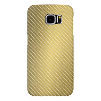 Goldkohlenstoff-Faser-Muster-Basis