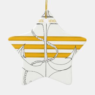 Goldkommandant, tony fernandes keramik ornament
