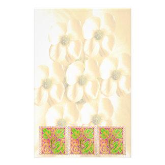 GoldLeaf Juwel-Muster: Blumen-Basis Briefpapier