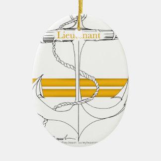 Goldleutnant, tony fernandes keramik ornament