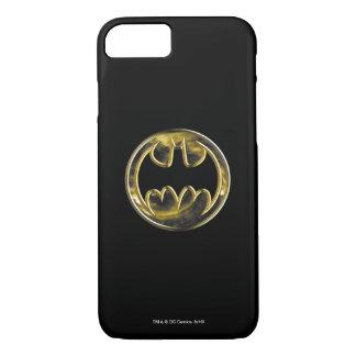 Goldlogo 2 Batman-Symbol-| iPhone 8/7 Hülle