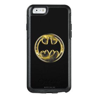 Goldlogo 2 Batman-Symbol-| OtterBox iPhone 6/6s Hülle