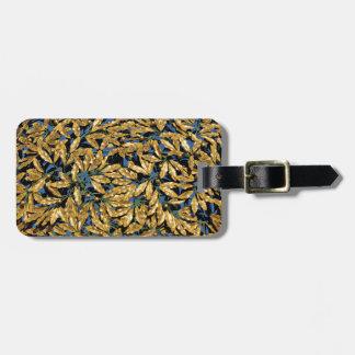 Goldlorbeer-Blätter Kofferanhänger