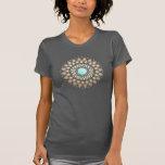 Goldlotos-Yoga-und T Shirt