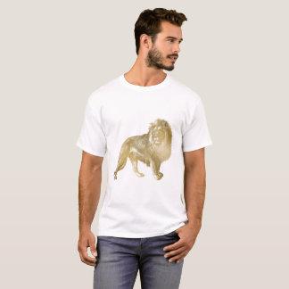 Goldlöwe-goldenes T-Shirt