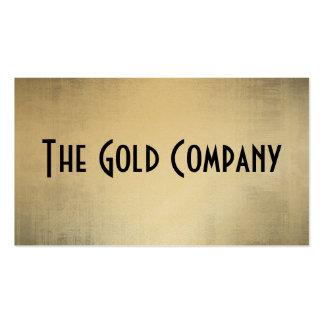 GoldmetallVisitenkarten
