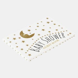 Goldmond und Stern-Babyparty Gästebuch