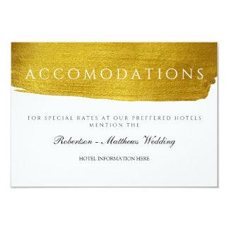 Goldmonogramm-bezaubernde und elegante karte