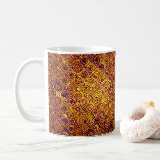 GOLDmosaik-KIESEL Kaffeetasse