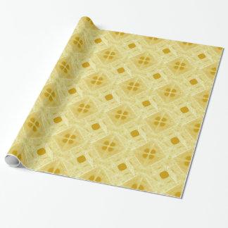 Goldmuster-Geschenk-Packpapier Geschenkpapier