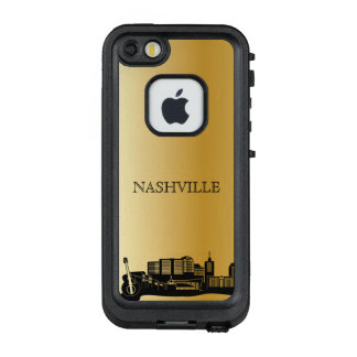 Goldnashville-Skyline-Telefon-Kasten LifeProof FRÄ' iPhone SE/5/5s Hülle