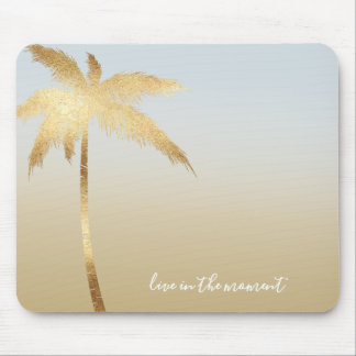 Goldpalme Ombre Mousepads