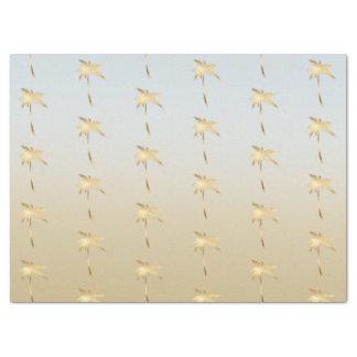 Goldpalme Ombre Seidenpapier