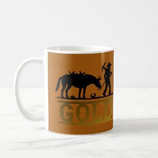 Goldprospektor Kaffeetasse