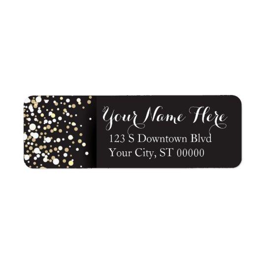 Goldpunkte - Adressen-Etiketten