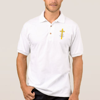 Goldqueres christliches Shirt