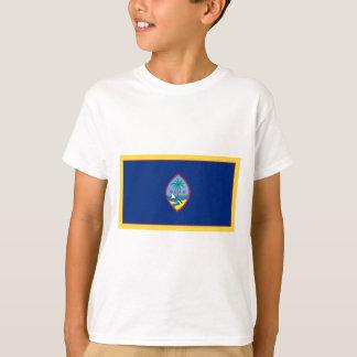Goldrand-Guam-Flagge T-Shirt