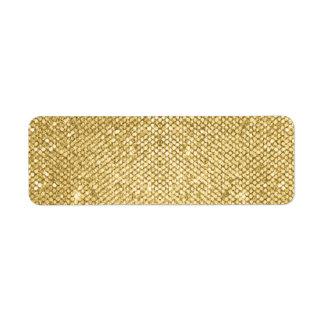 Goldraum-Schimmer-Schablone