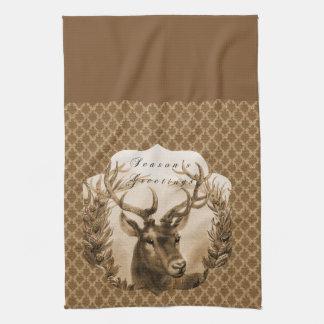 Goldrotwildgruß Handtuch