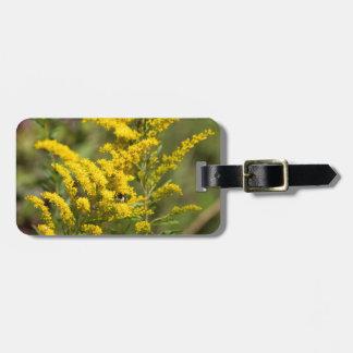 GoldrutenWildblumen Gepäckanhänger