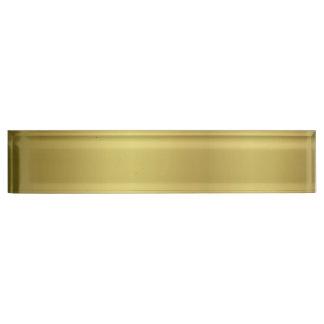 Goldschablonen-Rückseite fertigen besonders an
