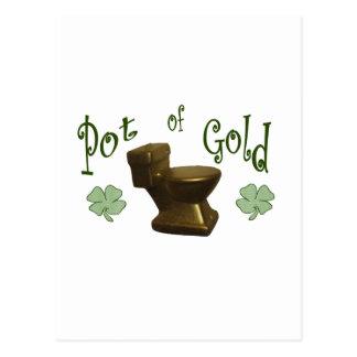 Goldschatz Postkarte