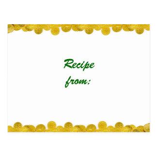 Goldschatz-Rezept Postkarte