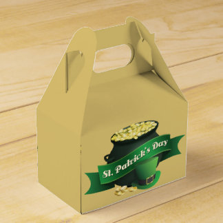 Goldschatz-und Kobold-Hut Geschenkschachtel
