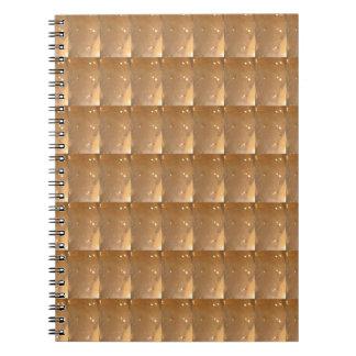 Goldschein-Juwel-Hintergrund DIY Schablonen-24% Notizblock