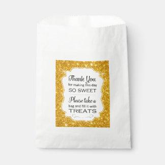 Goldschein-Süßigkeits-Bar-Gastgeschenk Geschenktütchen