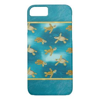 Goldschildkröten cooler iPhone 6 Fall iPhone 8/7 Hülle
