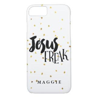 GoldschimmerConfetti Jesuss ungewöhnlicher iPhone 7 Hülle