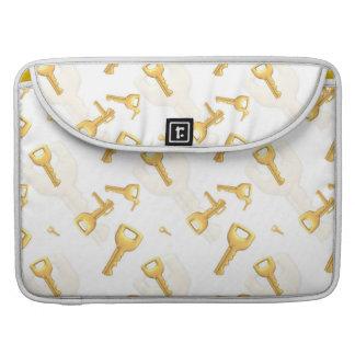 Goldschlüssel MacBook Pro Sleeves