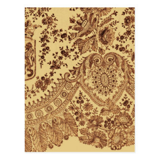 Goldspitze-Blumen Postkarte