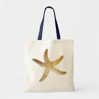 Goldstarfish-Taschen-Tasche Tragetasche