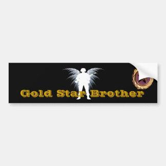 Goldstern-Bruder Autoaufkleber