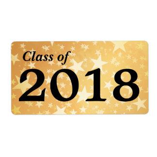 Goldstern-graduierte Klasse 2018% pipe% der