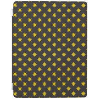 Goldstern mit schwarzem Hintergrund iPad Hülle